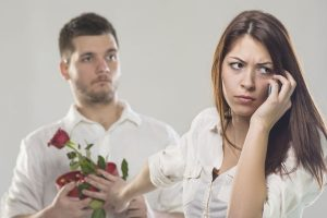 男を拒絶する女