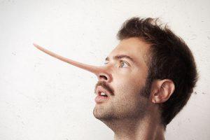 鼻の長い男