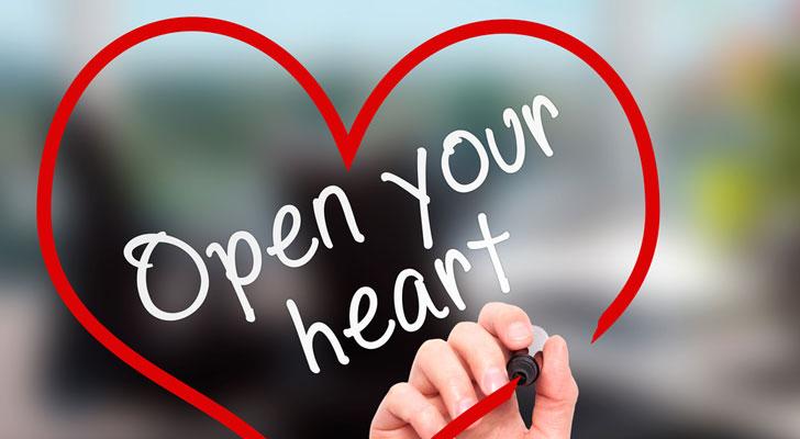 心を開ける相手と恋愛