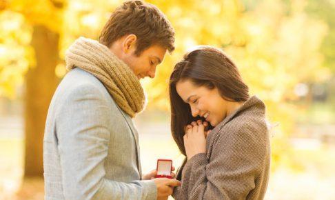 男にプロポーズされる女