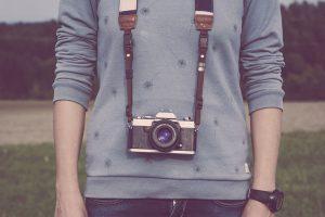 カメラと男