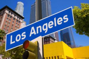 ロサンゼルスの看板