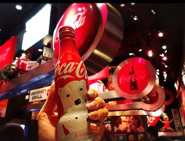 コーラのボトル