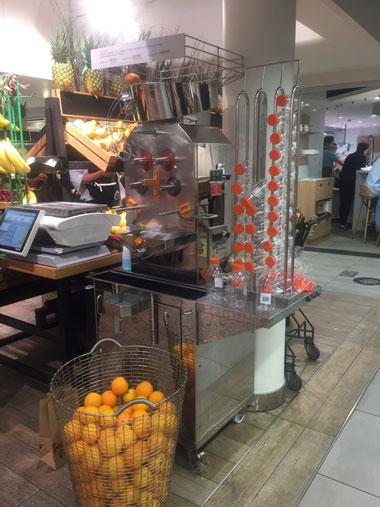 オレンジと機械