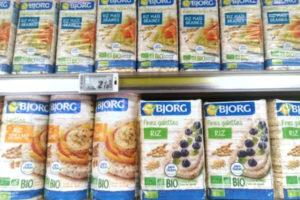 店頭に並ぶ米商品