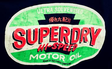 superdryロゴ