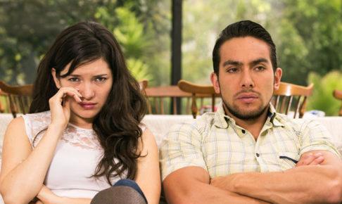 険悪なカップル