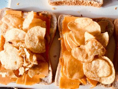 クリスプ・サンドイッチ