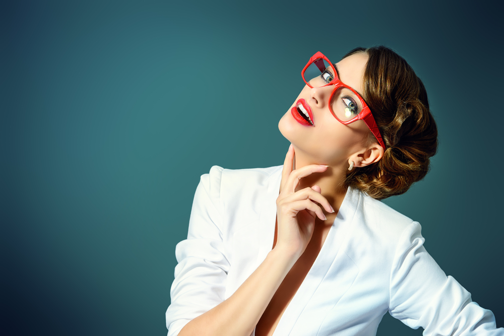 男性から見た魅力的なメガネ女性
