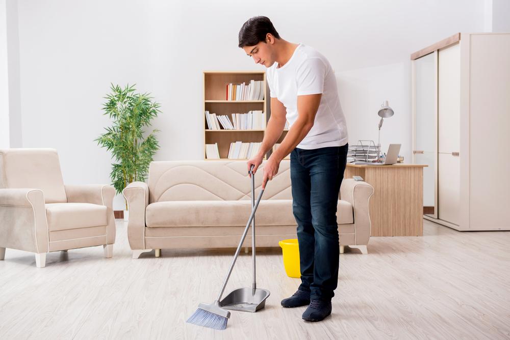 掃除をしている夢