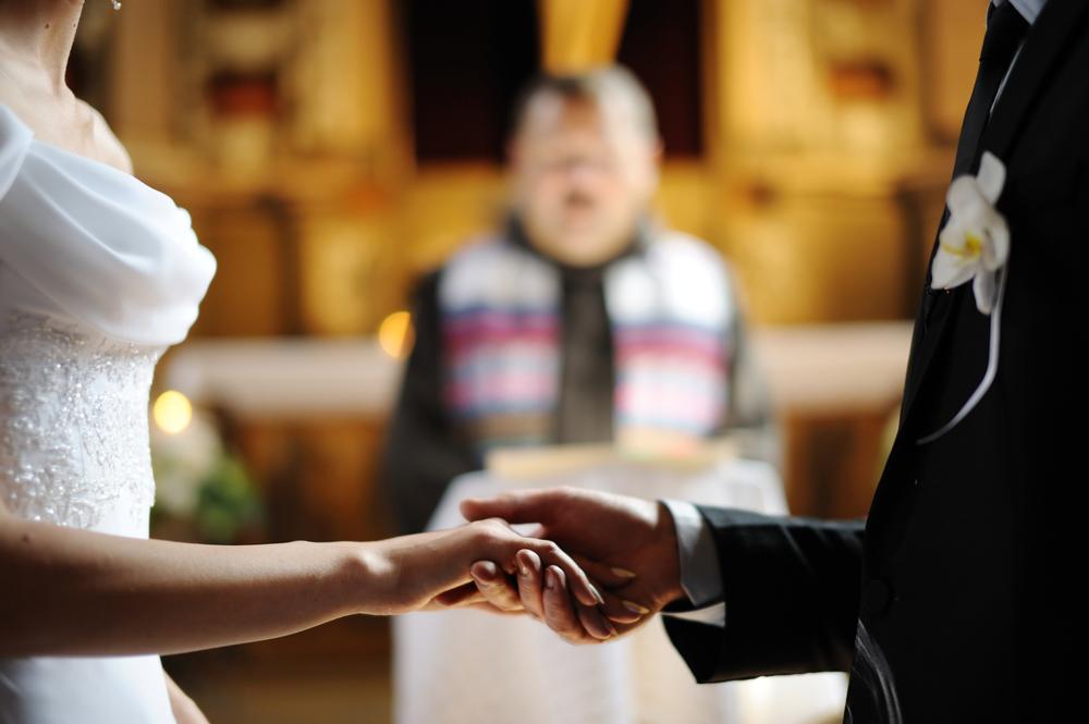 結婚式をしている夢