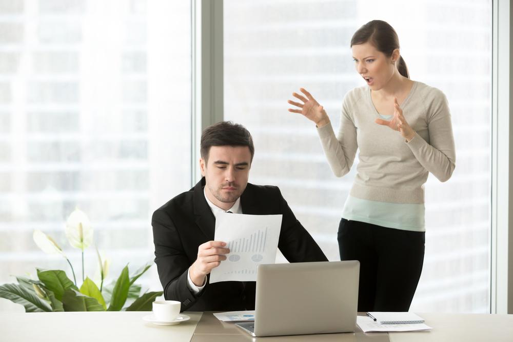 うざい男性上司の対処法