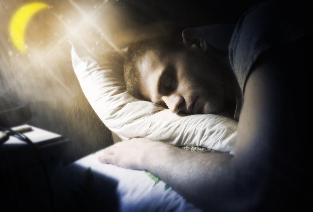彼氏が寝ている夢