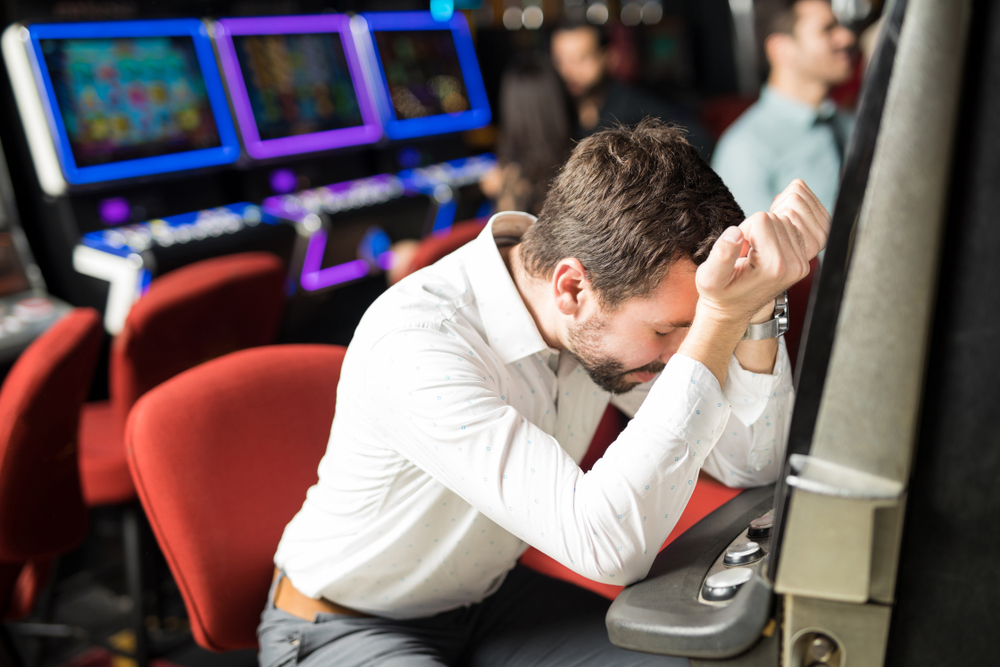 ギャンブル好きな男