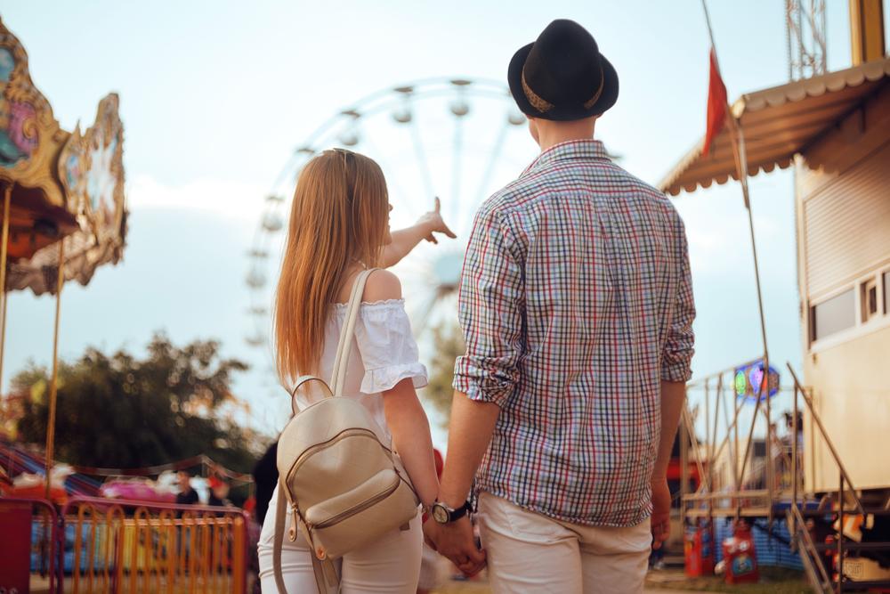 彼氏とテーマパークに行く夢