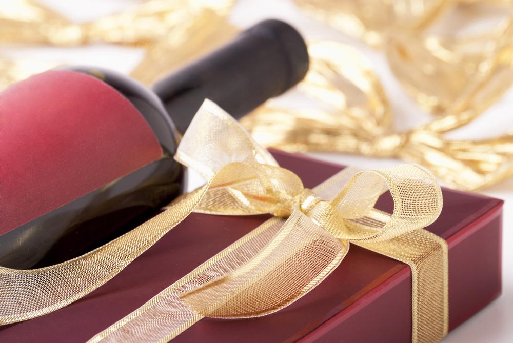 バレンタインで男性へワインのプレゼント