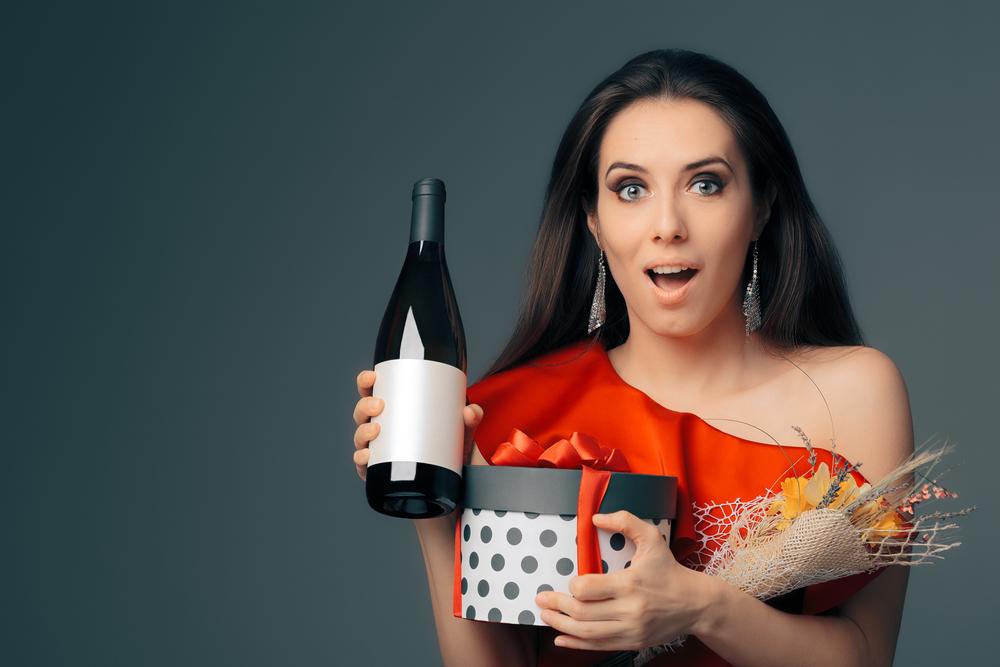 ホワイトデー女性へワインのプレゼント