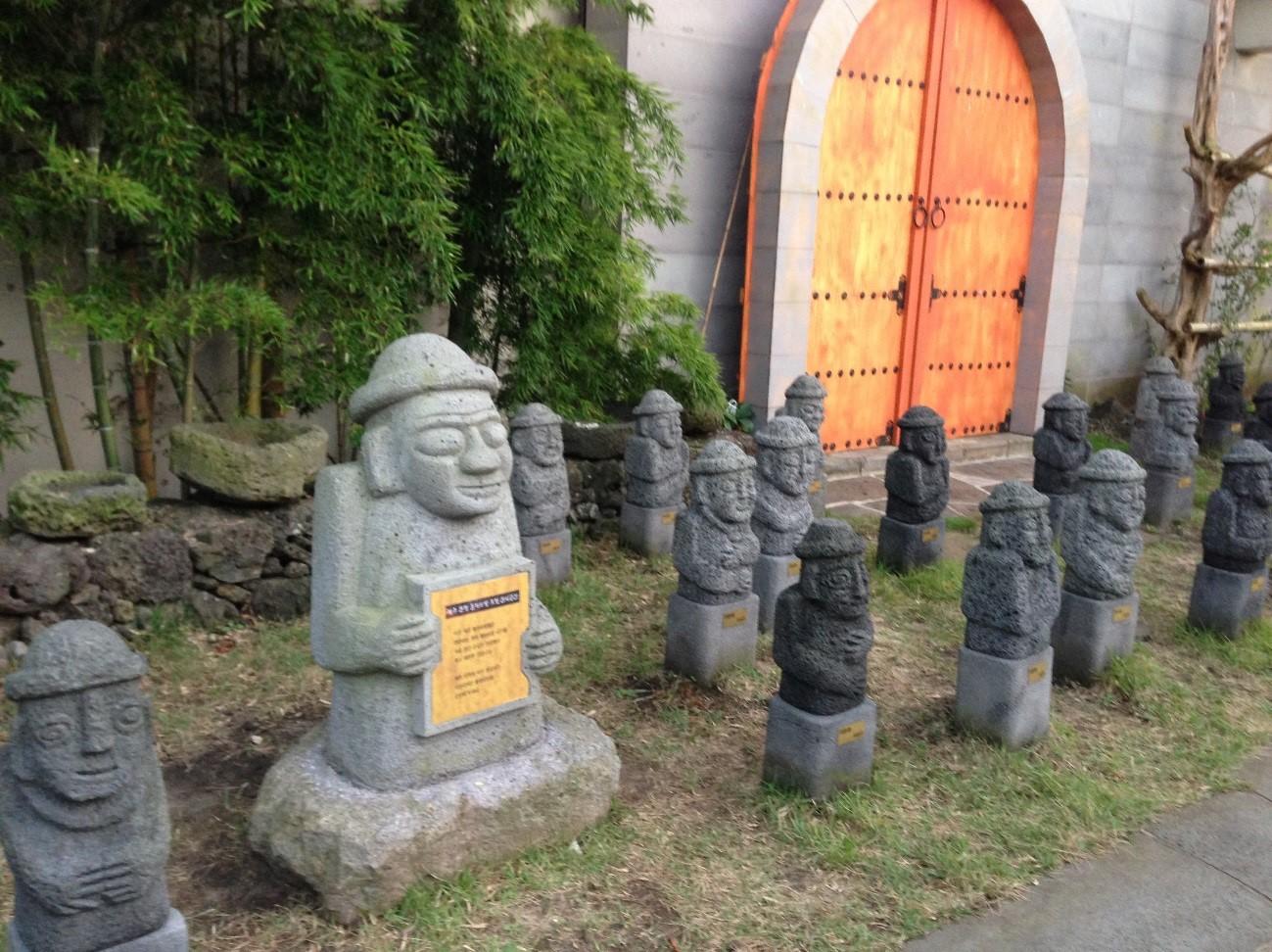 済州島で有名なトルハルバン