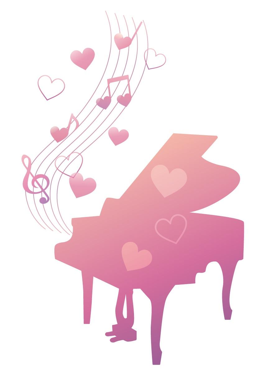 恋を奏でるかわいいピアノ