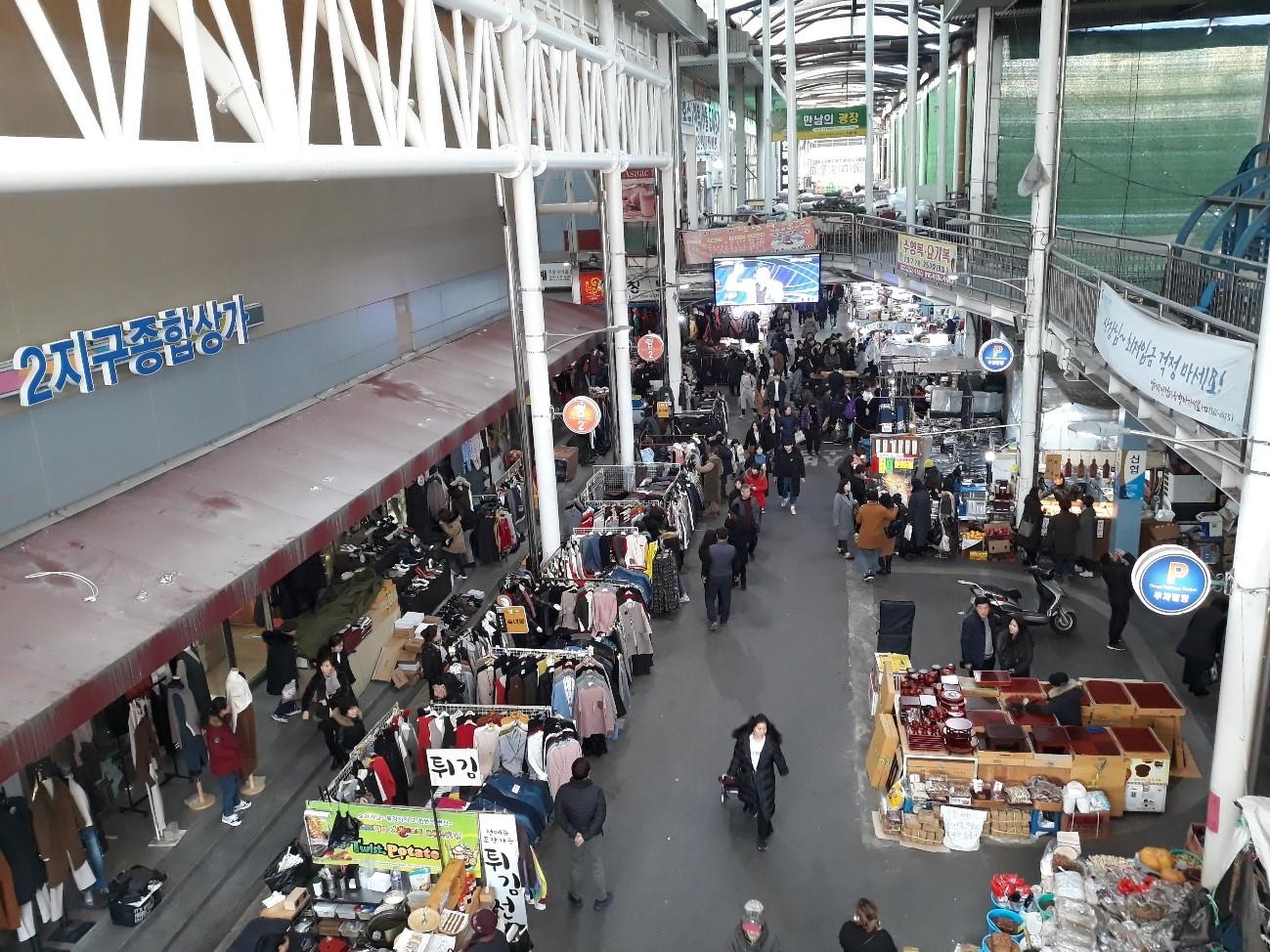 西門市場(ソムンシジャン)