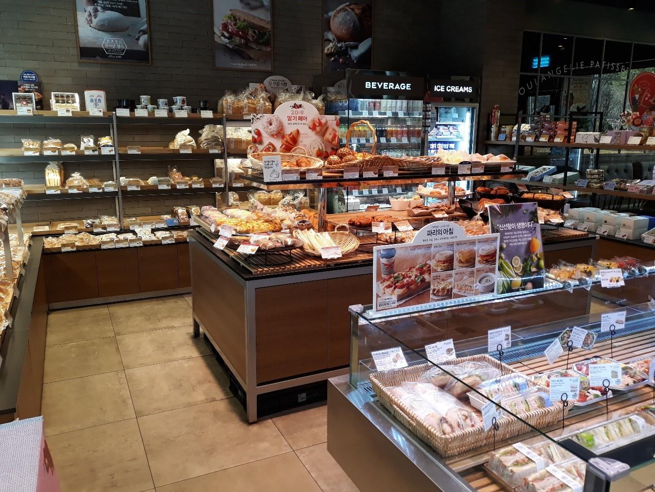 パリバケット店内のパン