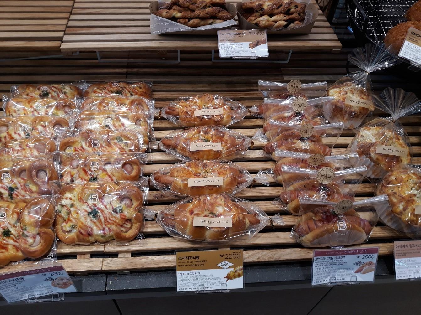 パリバケット店内のパン02