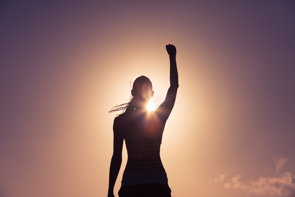 意志が強い女性